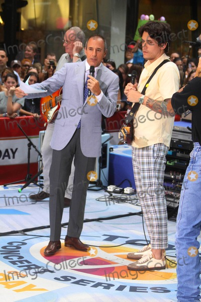 John Mayer Photo - John Mayermatt Lauer John Mayer Performs on Nbcs Today Show Toyota Concert Series at Rockefeller Plaza in New York City on 07-23-2010 Photo by John Barrett-Globe Photos Inc