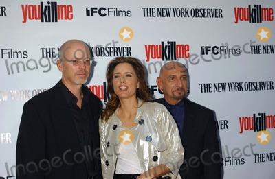 John Dahl Photo - You Kill ME Screening Ifc Center New York City 06-19-2007 Photo by Ken Babolcsay-ipol-Globe Photos Inc 2007 John Dahltea Leoni and Ben Kingsley