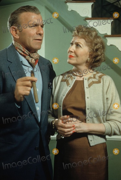 Gracie Allen Photo - George Burns with Gracie Allen 1990 10210 Photo by Don Ornitz-Globe Photos Inc