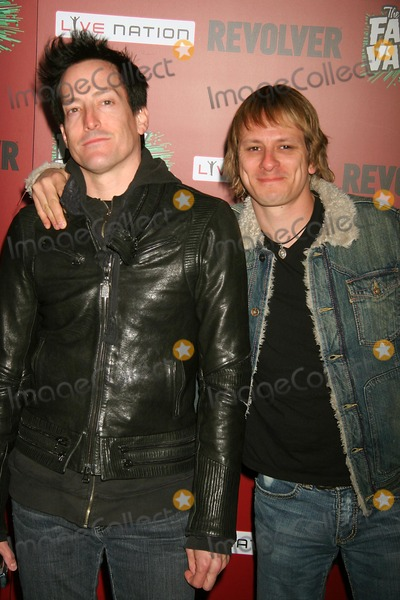 Army of Anyone Photo - the Family Values Tour 2007 Premiere Party Hollywood Forever Cemetary Hollywood California 04-19-2007 Richard Patrick-lead Singer and Ray Luzier - Drummer of Army of Anyone Photo Clinton H Wallace-photomundo-Globe Photos Inc