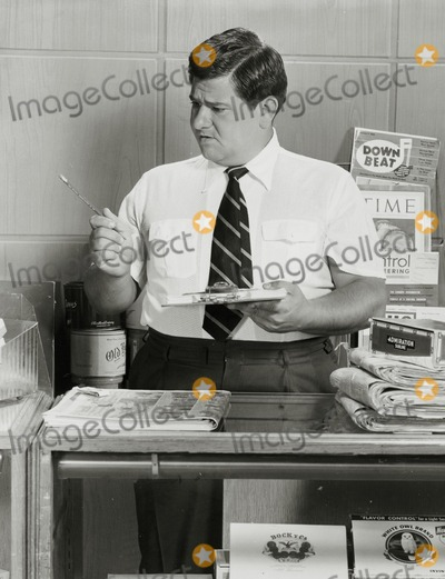 Buddy Hackett Photo - Buddy Hackett in His Tv Show Stanley 1956 Buddyhackettretro