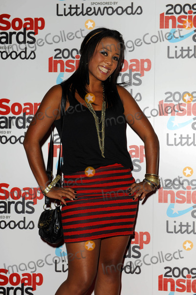 Nina Toussaint-White Photo - Nina Toussaint-white Actor the 2009 Inside Soap Awards London England 09-28-2009 Photo by Neil Tingle-allstar-Globe Photos Inc 2009