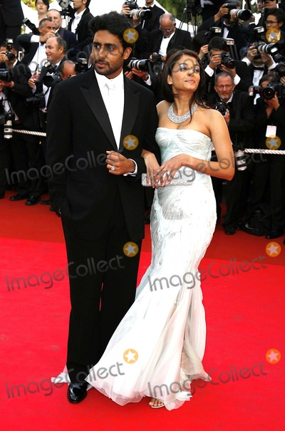 Ashwarya Rai Photo - Cannes Film Festival-opening Ceremony and Premiere of My Blueberry Nights Cannes France 05-16-2007 001941 Photo by Mark Chilton-richfoto-Globe Photos Abhishek Bachchan and Aishwarya Rai