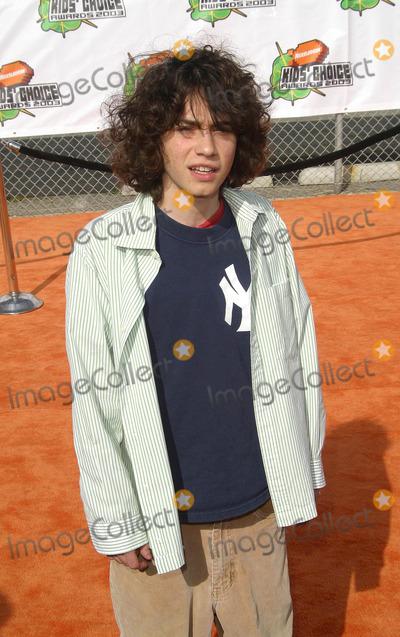 Adam Lamberg Photo - Adam Lamberg - Nickelodeons 16th Annual Kids Choice Awards 2003- Arrivals- Barker Hanger Santa Monica CA- 04122003- Photo by Nina Prommer  Globe Photos Inc 2003 -