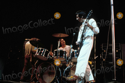 Keith Moon Photo - Keith Moon of the Who Performing Photo by Globe Photos
