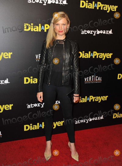 Nicole Forester Photo - Nicole Forester attending the Los Angeles Premiere of  Dial a Prayer Held at the Landmark Theatre in Los Angeles California on April 7 2015 Photo by D Long- Globe Photos Inc