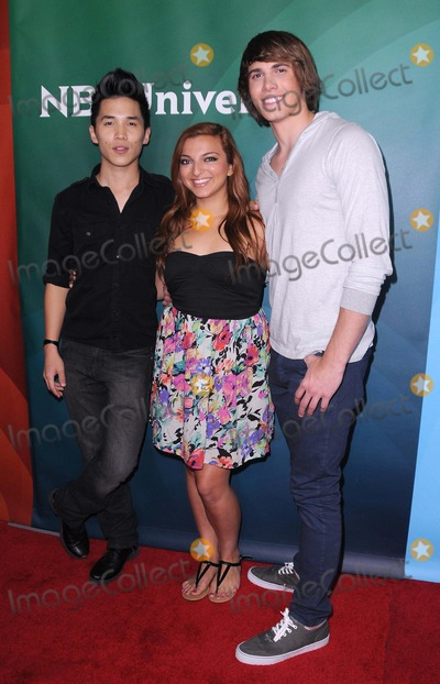 Abraham Lim Photo - NBC Universal Summer Press Tour at the Beverly Hilton in Beverly Hills CA 72512 Photo by James Diddick-Globe Photos copyright 2012 Abraham Lim Aylin Bayramuglu Blake Jenner