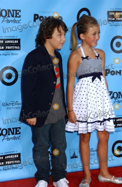 Noah Cyrus Photo - Ponyo Premiere the Village Theater Westwood CA 06-28-2009 Noah Cyrus Photo by Phil Roach-Globe Photos Inc 2009 Frankie Jones and Noah Cyrus