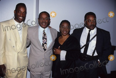 Flip Wilson Photo - Flip Wilson with Children David  Tamara and Kevin 1993 Photo by Greg Vie-Globe Photos Inc