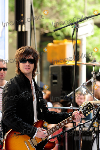 All-American Rejects Photo - Nick Wheeler of the All-american Rejects Performing on Nbcs Today Show Toyota Concert Series at Rockefeller Plaza in New York City on 07-17-2009 Photo by Ken Babolcsay-ipol-Globe Photos Inc 2009