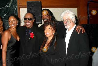 Aisha Morris Photo - the 29th Annual Tj Martell Foundation Award Gala Concert Hilton Hotel New York City 05272004 Photo Mitchell Levy  Rangefinders  Globe Photos Inc 2004 Stevie Wonder and His Dauhgter Aisha Morris with Ashford and Simpson and Michael Mcdonald