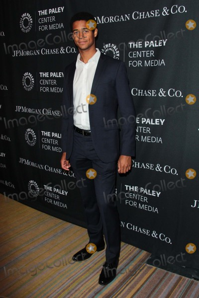 Alfred Enoch Photo - Alfred Enoch attends the Paley Center For Medias Tribute to African-american Achievements in Television October 26th 2015 at the Beverly Wilshire Hotel in Beverly Hillscaliforniaphototony LoweGlobephotos