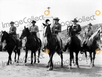Dean Martin Photo - Earl Holliman Dean Martin and John Wayne in Sons of Katie Elder 1965 Supplied by Globe Photos Inc Johnwayneobit