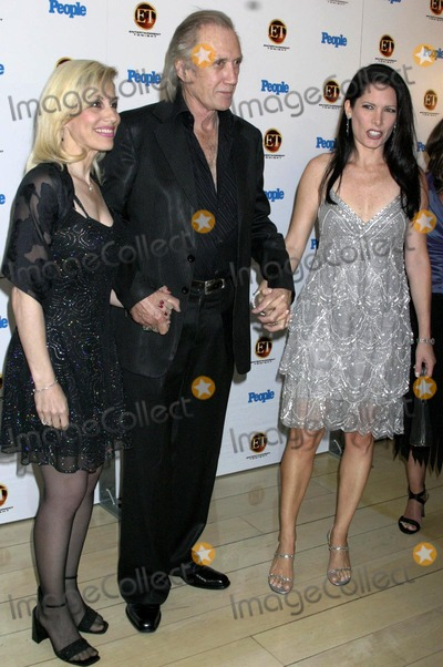 Annie Bierman Photo - Entertainment Tonight and People Magazine Celebrate the 56th Annual Emmy Awards at the Mondrians Asia DE Cuba and Skybar West Hollywood CA (091904) Photo by ClintonhwallaceipolGlobe Photos Inc2004 Victoria David Carradine and Annie Bierman