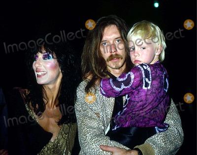 Elijah Blue Allman Photo - Cher with Les Dudek and Her Son Elijah Blue Allman in Los Angeles 6-6-1981 11702 Photo by Phil Roach-ipol-Globe Photos Inc