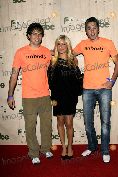 Paul Campbell Photo - Kristin Cavallari and the Guys From Nobodys Watching Taran Killam and Paul Campbell - Area - New Nightclub Opening Los Angeles California - 09-28-2006 - Photo by Nina PrommerGlobe Photos Inc 2006