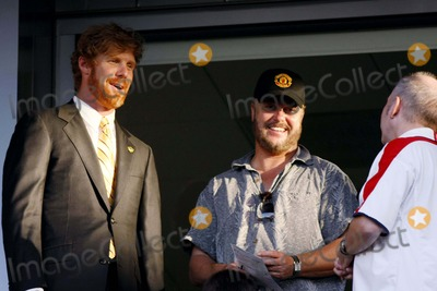 Alexi Lalas Photo - Alexi Lalas William Petersen Gm LA Galaxy  Csi Actor Los Angeles Galaxy V Columbus Crew Home Depot Centre Carson California 06-21-2008 Photo by Graham Whitby Boot-allstar-Globe Photos Inc 2008