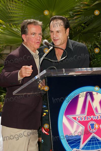 Harry Wayne Casey Photo - Kc  the Sunshine Band Honored a Hollywood Walk of Fame Star in Los Angeles CA Dick Clark and Kc - Harry Wayne Casey Photo by Fitzroy Barrett  Globe Photos Inc 7-30-2002 K25712fb (D)