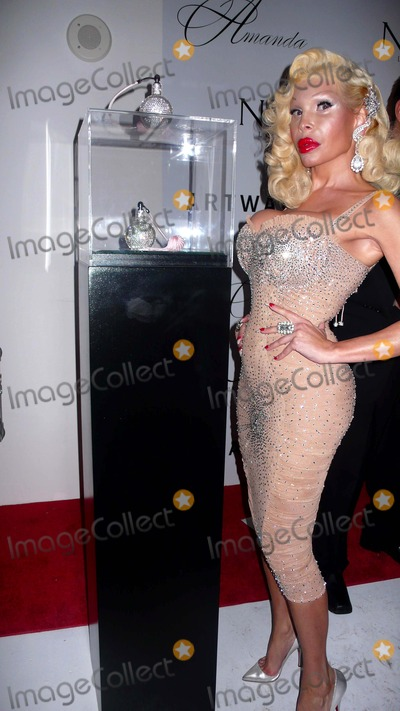 AMANDA LAPORE Photo - Art Basel-miami Out and About Amanda Lapore at Party For Her New Perfume-private Party Photo by Rose Hartman-Globe Photos Inc 2008