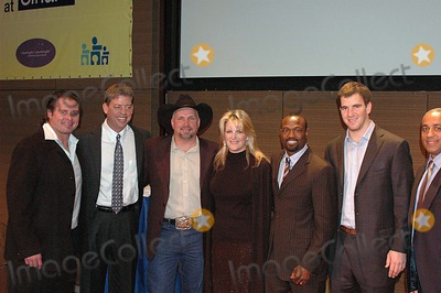 Harold Reynolds Photo - L to R Jason Giambi Troy Aikman Garth Brooks Trisha Yearwood Harold Reynolds Eli Manning Omar Manaya K46673kr MT Sinai Hospital New Zone Dedication of New Zone For Sick Kids New York City 02-07-2006 Photo Ken Rumments-Globe Photos Inc