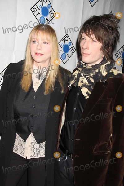 Bebe Buell Photo - Bebe Buell and Boy Friend at Room to Grow Gala Benefit at Mandarin Oriental Hotel Photo by John BarrettGlobe Photos Inc
