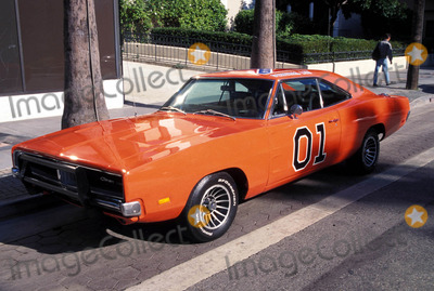 GENERAL LEE Photo - Denver Pyle Star on Hollywood Walk of Fame the General Lee From the Dukes Od Hazzard 1997 Photo by Milan Ryba-Globe Photos
