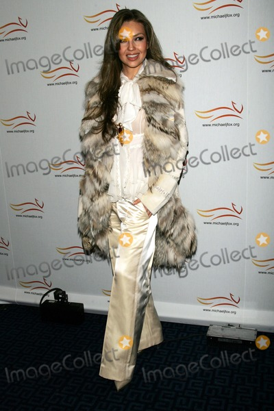 Thalia Mottola Photo - Thalia Arrives For the Michael J Fox Foundations a Funny Thing Happened on the Way to Cure Parkinsons Benefit Gala at the Sheraton Hotel in New York on November 5 2008 Photo by Terry GatanisGlobe Photos Inc