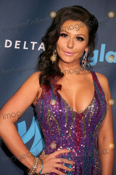 Jenni J-Woww Photo - The 24th Annual Glaad Media Awards the Marriott Marquis Hotel NYC March 16 2013 Photos by Sonia Moskowitz Globe Photos Inc 2013 Jenni (J Woww) Farley