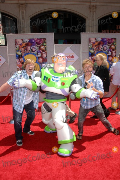 Chris Brochu Photo - Doug Brochu Buzz Lightyear and Chris Brochu during the premiere of the new movie from Walt Disney Pictures and Pixar Animation Studios TOY STORY 3 held at the El Capitan Theatre on June 13 2010 in Los AngelesPhoto Michael Germana - Globe Photos iNC 2010K65167MGE