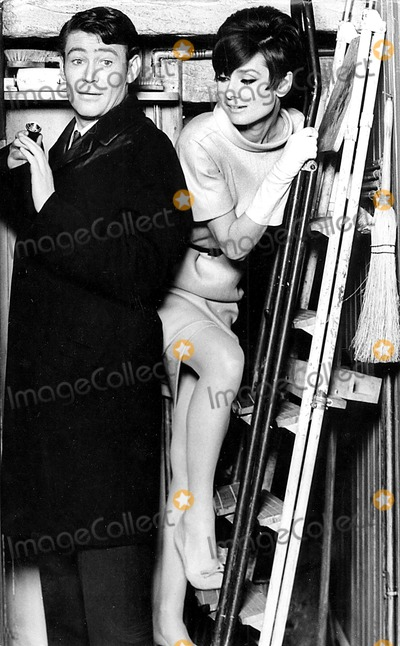 Peter O Toole Photo - Peter Otoole and Audrey Hepburn in How to Steal a Million Dollars and Live Happily Ever After 1966 Supplied by CpGlobe Photos Inc Peterotooleretro