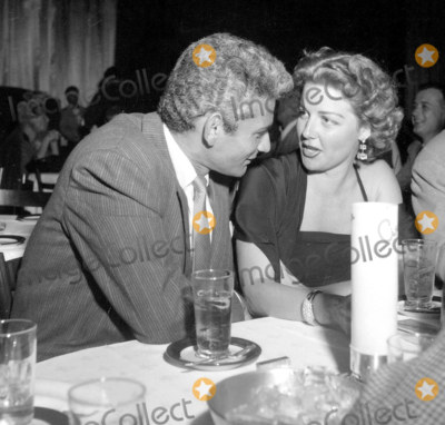 Ann Sheridan Photo - Jeff Chandlerann Sheridan Ciros Photo Nate CutlerGlobe Photos Inc