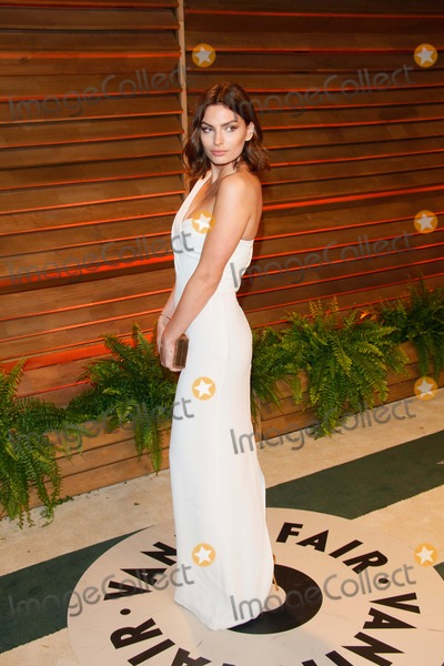 Alyssa Miller Photo - Alyssa Miller Arrives at the Vanity Fair Oscar Party in West Hollywood Los Angeles USA on 02 March 2014 Photo Alec Michael Photo by Alec Michael-Globe Photos Inc
