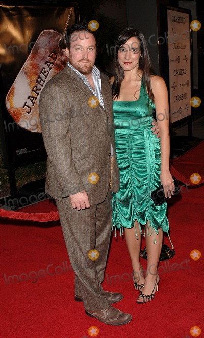 Anthony Swofford Photo - Jarhead Premiere at the Arclight Theater in Hollywood CA 10272005 Photo by Fitzroy Barrett  Globe Photos Inc 2005 Anthony Swofford and Date
