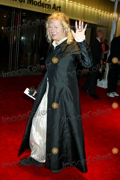 Agnes B Photo - Opening Night Gala For Moma New York City 11-18-2004 Photo by Sonia MoskowitzGlobe Photosinc Agnes B