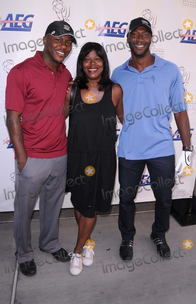 Aldis Hodge Photo - Academy of Television Arts  Sciences 12th Primetime Emmy Celebrity Tee-off at the Oakmont Country Club in Glendale CA 91211 Photo by Scott Kirkland-Globe Photos   2011 Edwin Hodge Aldis Hodge and Their Mother