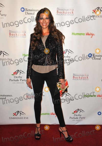Adrienne Janic Photo - Adrienne Janic attending the Derby Does Hollywood Prelude Party Held at the London in West Hollywood California on January 9 2014 Photo by D Long- Globe Photos Inc