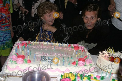 Chris Jones Photo - Legendary Actress Shelley Winters Celebrates Her 85th Birthday Beverly Hills CA 08-18-2005 Photo Clinton Hwallace-photomundo-Globe Photos Inc Shelley Winters and Chris Jones