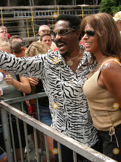 Ike Turner Photo - Ike Turner and Audrey Madison - Director John Singleton Was Honored with the 2234th Star on the Hollywood Walk of Fame - Hollywood CA - 8262003 - Photo by Nina PrommerGlobe Photos Inc2003