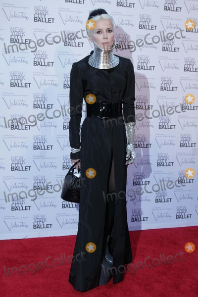 Daphne Guinness Photo - The New York City Ballet Fall Gala Celebrating Valentino David H Koch Theater Lincoln Center NYC September 20 2012 Photos by Sonia Moskowitz Globe Photos Inc 2012 Daphne Guinness