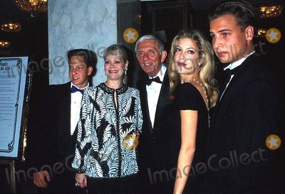 Aaron Spelling Photo - (L to R) Son Randy Wife Candy Aaron Spelling Daughter Tori with Her Boyfriend Nicholas Savalas Photo by Lisa RoseGlobe Photos Inc