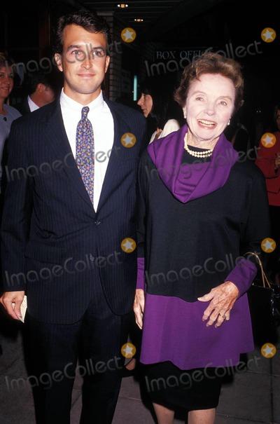Jane Wyatt Photo - Janewyattretro Jane Wyatt and Grandson 1992 Photo by Michael Ferguson-Globe Photos