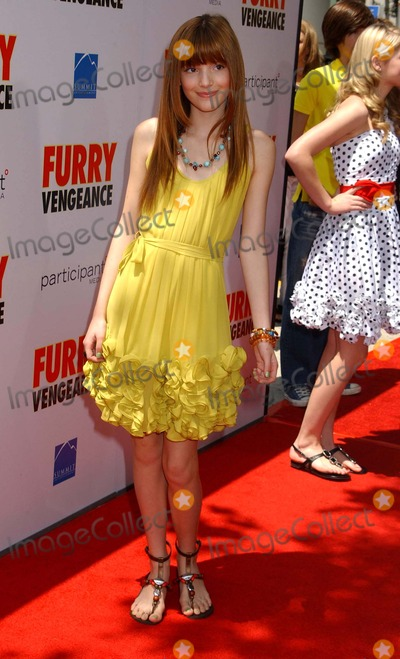 Bella Thorne Photo - Bella Thorne Furry Vengeance Los Angeles Premiere Bruin Theatre Westwood CA 04-18-2010 Photo by Aphil Roach-ipol-Globe Photos Inc 2010