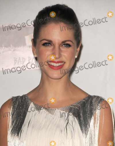 Amy Huberman Photo - Amy Huberman attending the 7th Annual Oscar Wilde Honoring the Irish in Film Pre-academy Awards Event Held at the Bad Robot in Santa Monica California on 22312 Photo by D Long- Globe Photos Inc