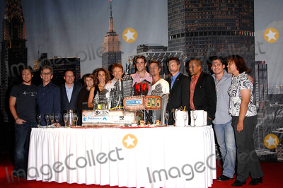 Anna Belknap Photo - kley Robert Joy David Stapf Anna Belknap Melina Kanakaredes Jerry Bruckheimer Eddie Cahill Carmine Giovinazzo Gary Sinise Hill Harper Peter Lenkov and Pam Veasey during the CSI NY 100th Episode Cake Cutting Celebration held at the CBS Paramount Studios on September 16 2008 in Los AngelesPhoto Michael Germana - Globe PhotosK59651MGE