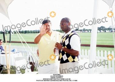 Andre Harrell Photo - Allen Grubman Andre Harrell Bridgehampton Polo Game Aug 98 Photo by Marina GarnierGlobe Photos Inc