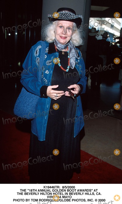 Virginia Mayo Photo -  852000 the 18th Annual Golden Boot Awards at the Beverly Hilton Hotel in Beverly Hills CA Virginia Mayo Photo by Tom RodriguezGlobe Photos Inc