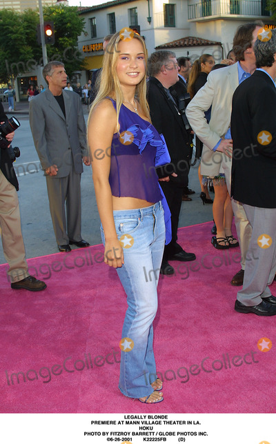 Hoku Photo - Legally Blonde Premiere at Mann Village Theater in LA Hoku Photo by Fitzroy Barrett  Globe Photos Inc 6-26-2001 K22225fb (D)