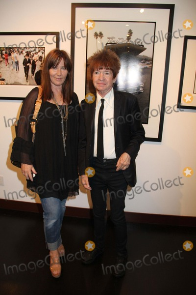 Kathy Valentine Photo - Chris Stein Photo Exhibition Hell in the City of Angels Opening Night Party Morrison Hotel Gallerysunset Marquis Hotel West Hollywood CA 08092013 Rodney Bingenheimer and Kathy Valentine Photo Clinton H Wallace-photomundo-Globe Photos Inc