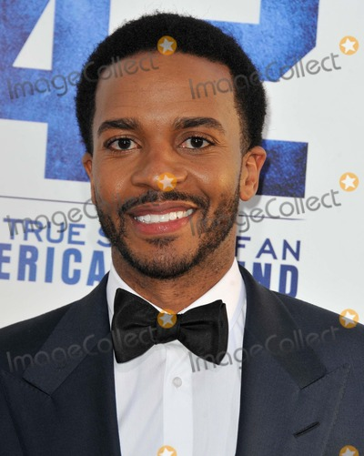 Andre Holland Photo - Andre Holland attending the Los Angeles Premiere of Warner Bros Pictures and Legendary Pictures 42 Held at the Tcl Chinese Theatre in Hollywood California on April 9 2013 Photo by D Long- Globe Photos Inc