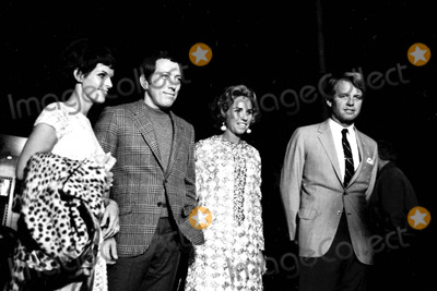 Andy Williams Photo - Andy Williams with Robert and Ethal Kennedy at the Courreges Fashion Party 1967 23823 Don OrntizGlobe Photos Inc